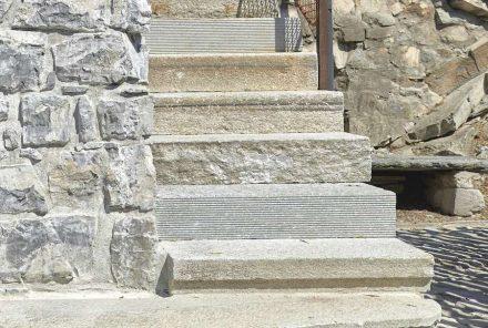 Enrico Sassi: staircase in Gandria