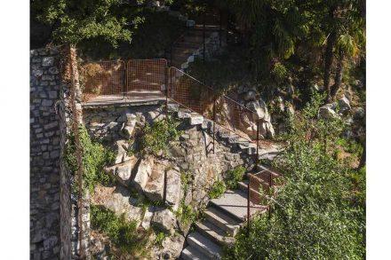 Enrico Sassi: staircase in Gandria.
