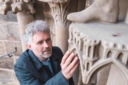 Der Bamberger Kunsthistoriker Professor Dr. Stephan Albrecht forscht seit Jahrzehnten zu Kathedralen wie, auf dem Foto gezeigt, am Bamberger Dom.