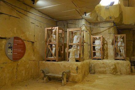 Grassi Pietre: Firmenmuseum im Steinbruch.