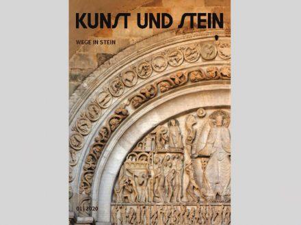 Titelbild von Kunst und Stein 1/2020.