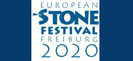 The logo of the European Stone Festival 2020.