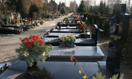 Almost only in Poland traditional graveyards are still popular. Photo from Junikowo cemetery in Poznan.