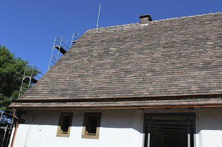 Die Zehntscheune in Bad Driburg-Dringenberg.