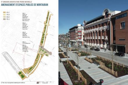 Prize for urban design: public space in Montauban.