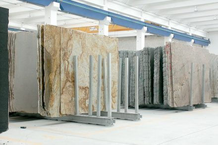 The Italian stone/techno-stone industry has a production worth some 2.6 billion euros.