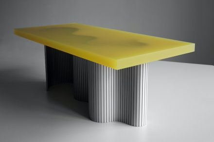 "Erik Olovsson: ""Spine"" table."