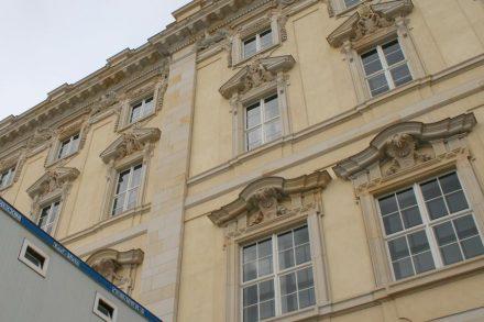 Nominiert sind unter anderem die Steinarbeiten an den Fassaden des Humboldtforums im neu aufgebauten Berliner Schlosses.