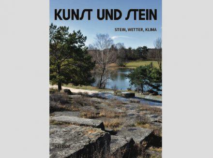 """Titelblatt von """"Kunst und Stein"""" (2/2020)."""