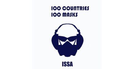 "Kunstaktion ""100 Masken 100 Länder""."