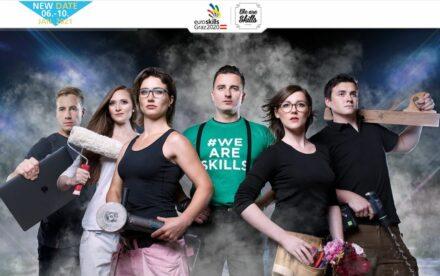 Webpage of EuroSkills in Graz.