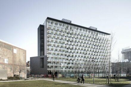The De Castillia 23 building in Milan. Photos: Fiandre