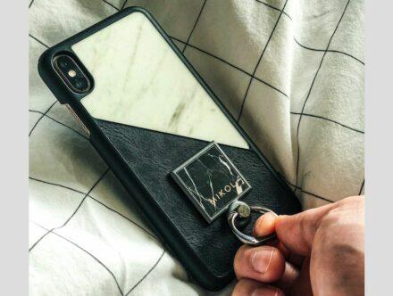 Mikol-Marmi: Ringgriffe mit super-dünnem Stein. Foto: Mikol Marmi