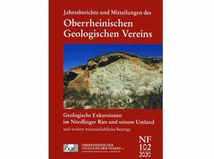 Cover des Bandes 102 der Jahresberichte und Mitteilungen des Oberrheinischen Geologischen Vereins. Foto: Verlag