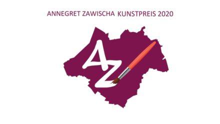 Das Logo des Annegret Zawischa Kunstpreises der Frauen Union Ammerland.