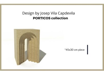 "The prize of the ""Challenge"" competition. Design: Josep Vila Capdevila"