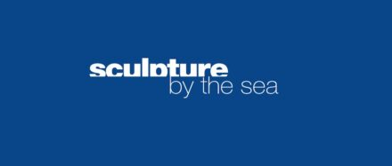 "Logo of ""Sculpture by the Sea""."