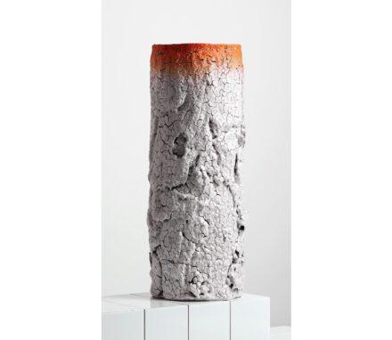 Irina Razumovskaya (Russland / Großbritannien) zeigte Keramiken mit minimalistischer Form und aufplatzender, sich ablösender Glasur. Die Jury assoziierte dazu Birkenwäler beziehungsweise Vergänglichkeit und Verfall.