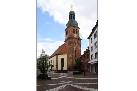 "Die Lutherkirche in Pirmasens. Foto: <a href=""https://commons.wikimedia.org/""target=""_blank"">Wikimedia Commons</a> / Gerd Eichmann"