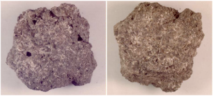 """KREEP-basalt collected during the Apollo 15 mission near Apennine Mountains. The size of the sample is about 2 cm and its weight is 7.5 grams. Source: Nasa / <a href=""""https://commons.wikimedia.org/""""target=""""_blank"""">Wikimedia Commons</a>"""