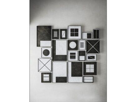"Designer Elisa Ossino, Salvatori: ""Intarsi""."