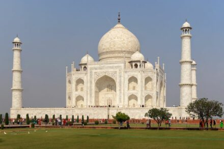 "Das Taj Mahal. Foto: Jakub Hałun / <a href=""https://commons.wikimedia.org/""target=""_blank"">Wikimedia Commons</a>"