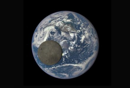 The composition of the Moon's near side is oddly different from that of its far side, and scientists think they finally understand why. Source: NASA/NOAA