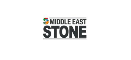 Logo der Messe Middle East Stone.