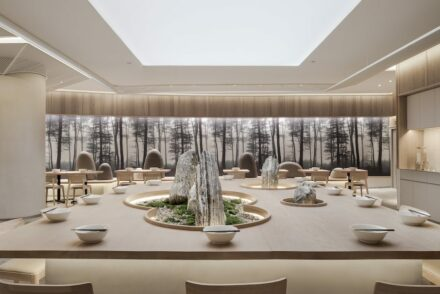 Golucci Interior Architects: die Kiki Noodle Bar in Shanghai.