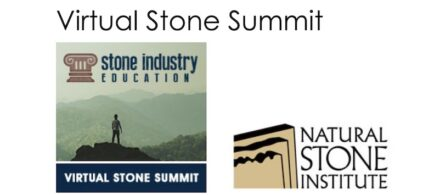 The logo of the Virtual Stone Summit.