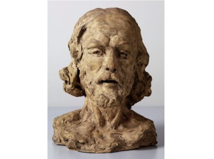 "Auguste Rodin, ""The Head of John the Baptist"", 1877/78."