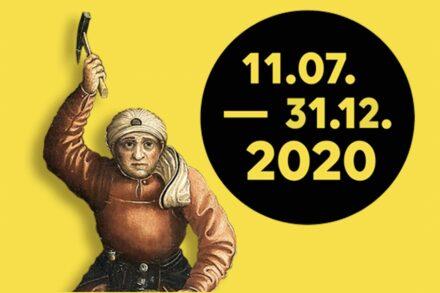 Poster der 4. Sächsischen Landesausstellung.
