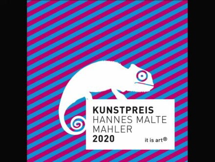 Logo of the Art Award Hannes Malte Mahler.