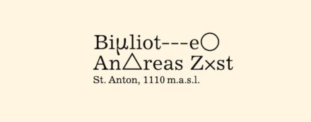 Logo from the webpage of the Bibliothek Andreas Züst.