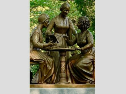 Women's Rights Pioneers Monument. Source: Central Park Conservancy