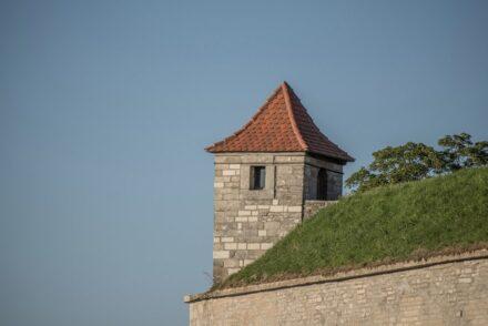 "Viele Details mit Stein prägen die Wülzburg. Foto: Tilman2007 / <a href=""https://commons.wikimedia.org/""target=""_blank"">Wikimedia Commons</a>"