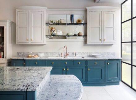 Martin Moore's New Classic kitchen.