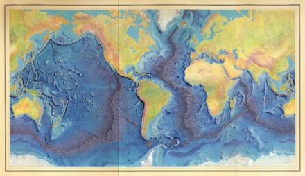 The famous World Ocean Floor Panorama from 1977.