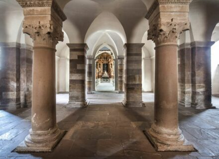 "Kloster Corvey in Höxter. Quelle: <a href=""https://welterbewestwerkcorvey.de/""target=""_blank"">WelterbeWestwerkCorvey</a>"