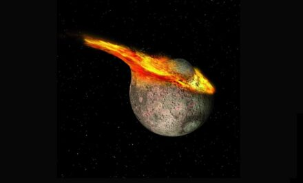 How the moon was formed.