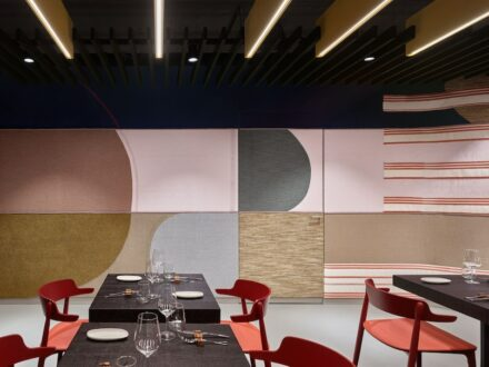 "Ippolito Fleitz: Restaurant auf dem ""Object Campus – City of Visions""."