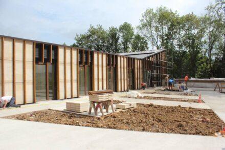 Studiolada Architectes: Altenheim in Vaucouleurs, Frankreich.