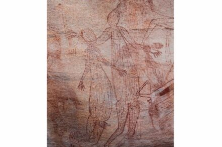 Maliwawa human figures from an Awunbarna site
