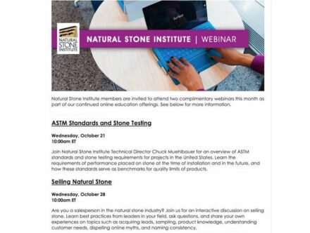 Screenshot: coming NSI-webinars in October 2020.