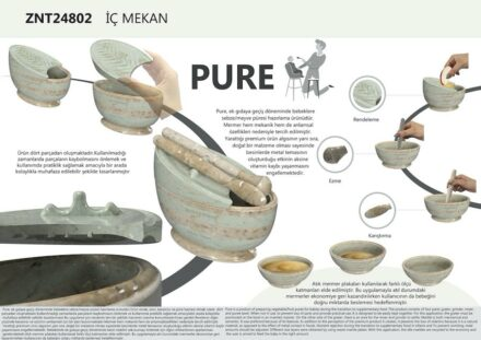 """Pure"" by Ümmü Beyza Top (students, Gazi Üniversitesi): kitchen tools."