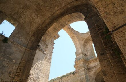 The Chiesa Diruta, Grottole, Southern Italy.