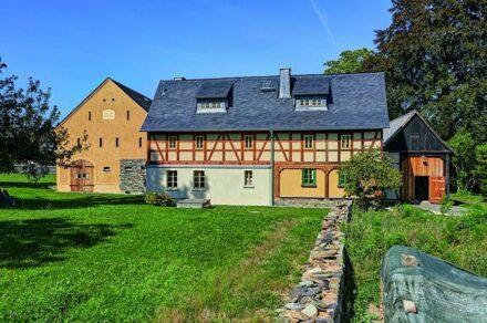 3. Preis: der Vierseithof in Langenbernsdorf.
