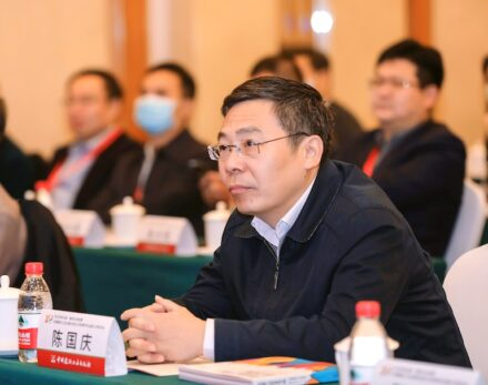 Chen Guoqing, Präsident der China Stone Material Association (CSMA). Foto: CSMA.