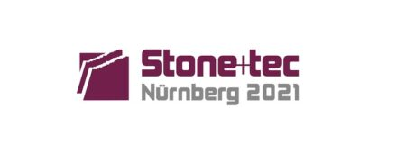 No more needed: the logo of Stone+tec 2021.