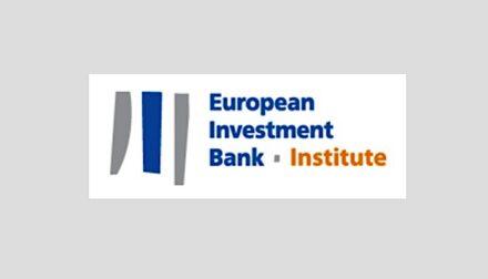 Logo of the European Investment Bank (EIB) Institute.